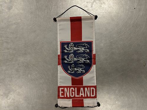 England Small Banner (19 x 7.5 inches)