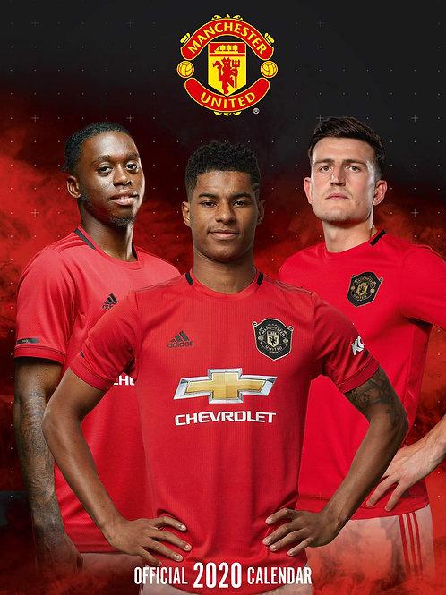 Manchester United 2020 calendar