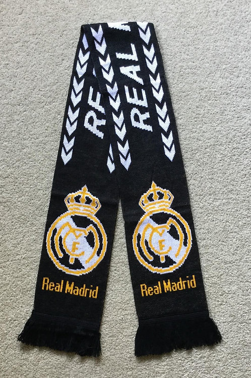 Real Madrid Knitted Scarf
