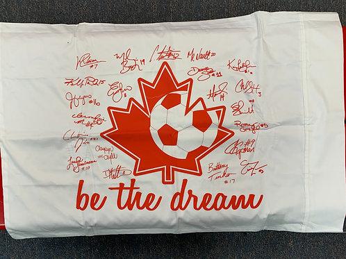 2012 Canada Women's soccer team Pillow case