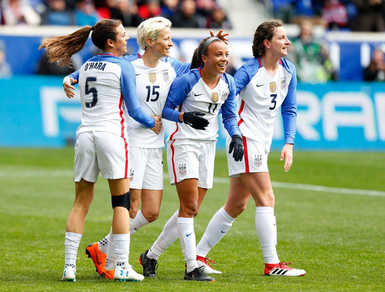 In Fight for Equality, U.S. Women's Soccer Team Leads the Way