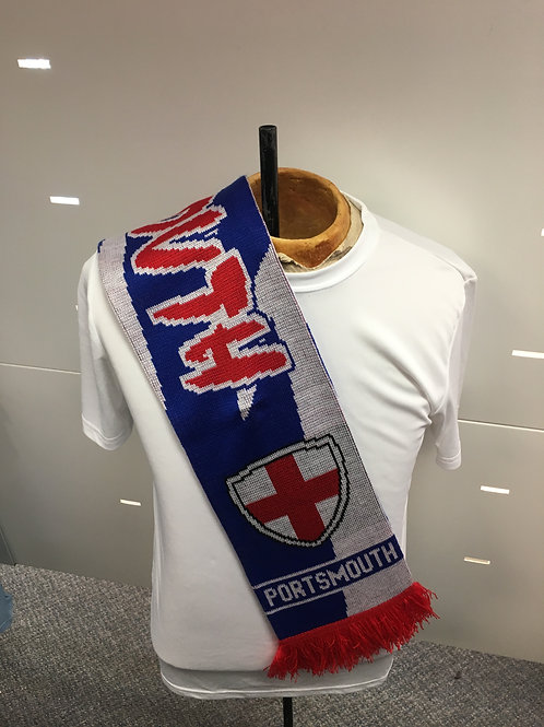 Portsmouth FC Knitted Scarf