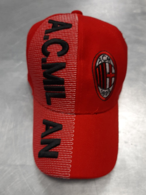 A.C Milan Crest Embroidered Hat