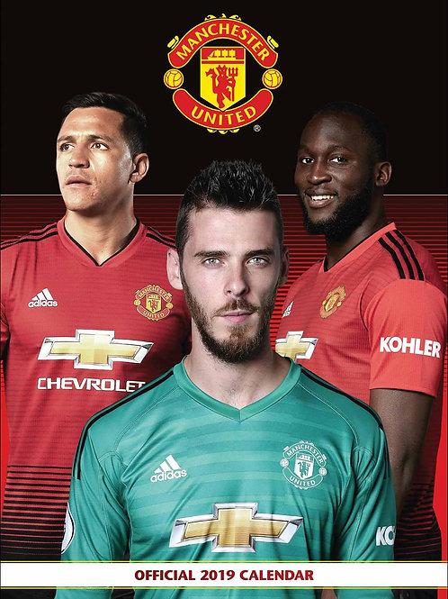 Manchester United FC 2019 Calendar