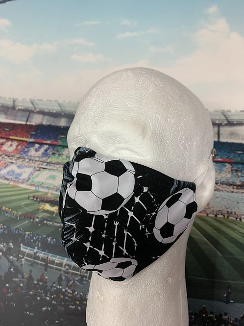 Soccer Ball - Face Mask