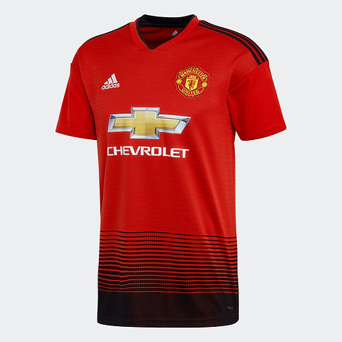 2018/19 Youth Manchester United Replica Home Jersey