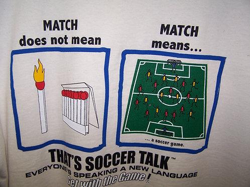 'Soccer Talk' JATO Tee - Match