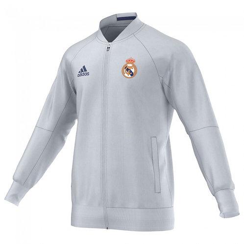 Real Madrid Home Anthem Jacket- White 2016/17