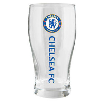 Chelsea FC Pint Glass