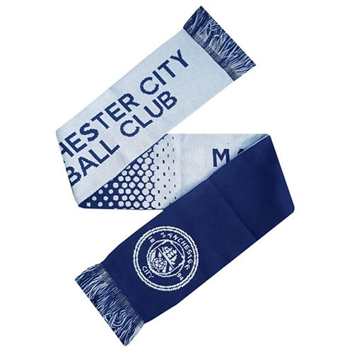 Manchester City Knitted Scarf - Made in UK