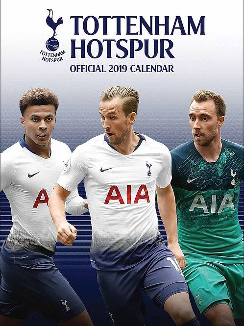 Tottenham Hotspurs 2019 Calendar