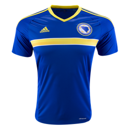 2016 Bosnia & Herzegovina Replica Home Jersey