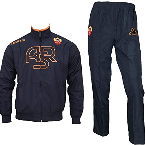 AS ROMA (Youth) - Kappa Black Track Suit