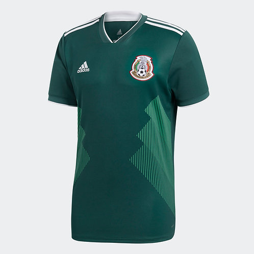 2018 Mexico Replica Home Jersey