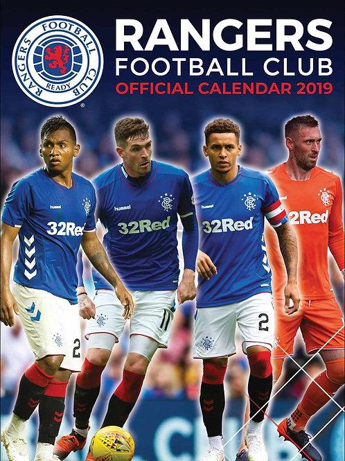 Rangers FC 2019 Calendar