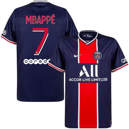 Mbappe 2021 - PSG Lettering
