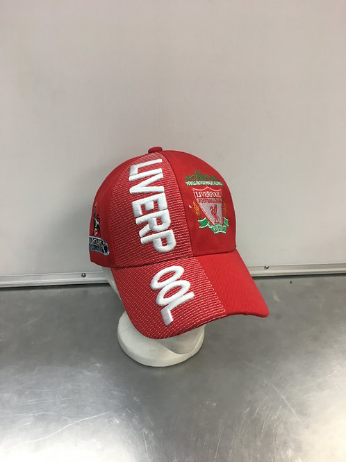Liverpool FC Crest Embroidered Hat