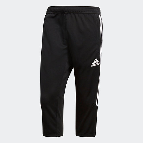 Adidas Men's Tiro17 Three-Quarter Training Pants - Black