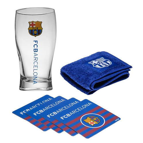 FC Barcelona. Mini Bar Set