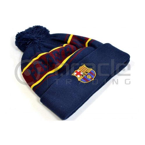 FC Barcelona Pom Beanie