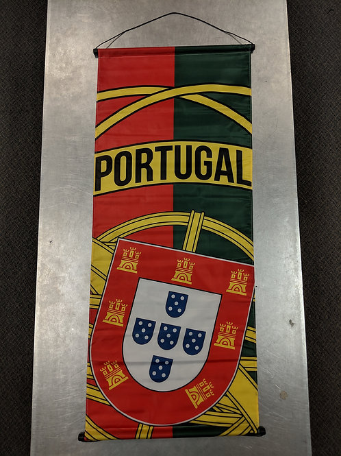 Portugal Large Banner (43.5 x 18.5 inches)
