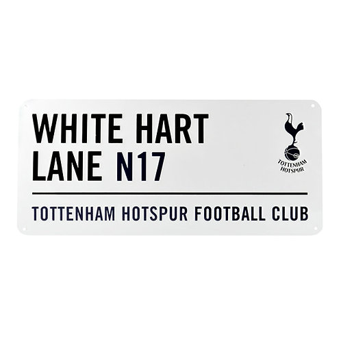 Tottenham Hotspur Street Sign - White Hart Lane