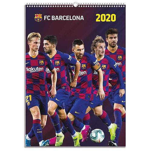 FC. Barcelona 2020 Calendar