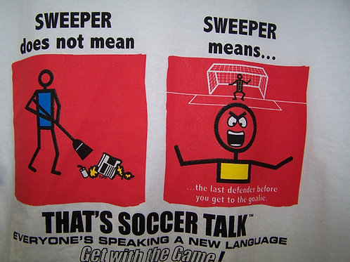 'Soccer Talk' JATO Tee - Sweeper