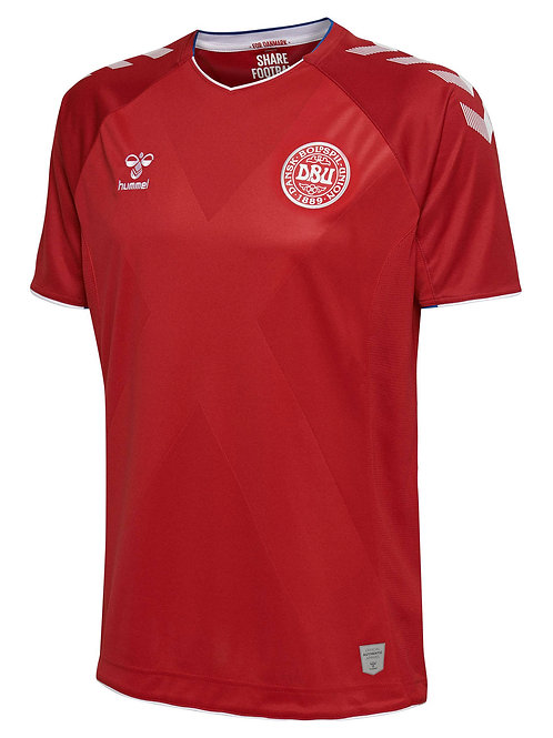 2018 Denmark Authentic Home Jersey