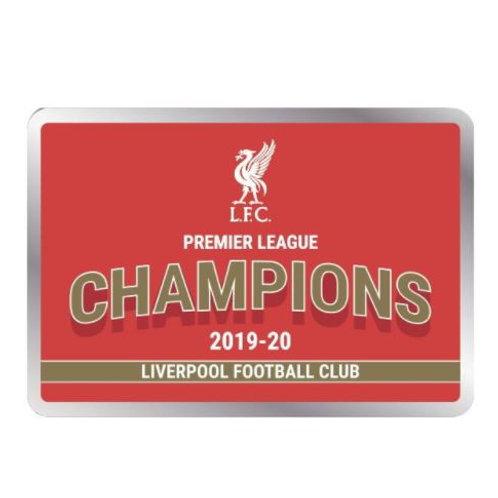 Liverpool FC. Champions Pin 19/20