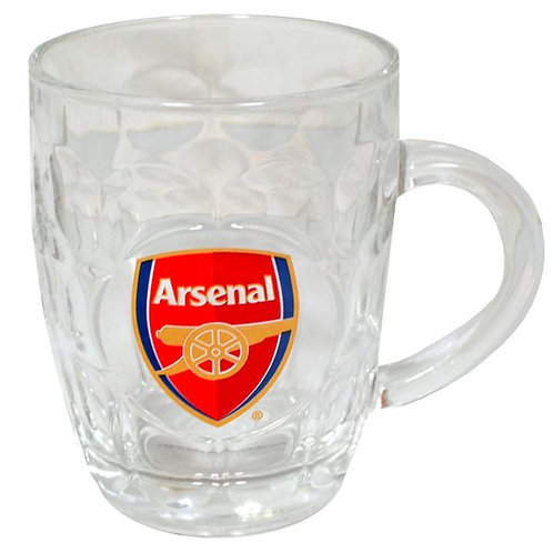 ARSENAL – GLASS TANKARD