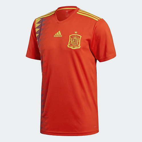 2018 Youth Spain Replica Home Jersey