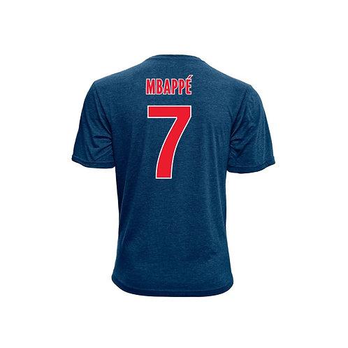 PARIS SAINT GERMAIN (PSG) – MBAPPE NAME & NUMBER T-SHIRT