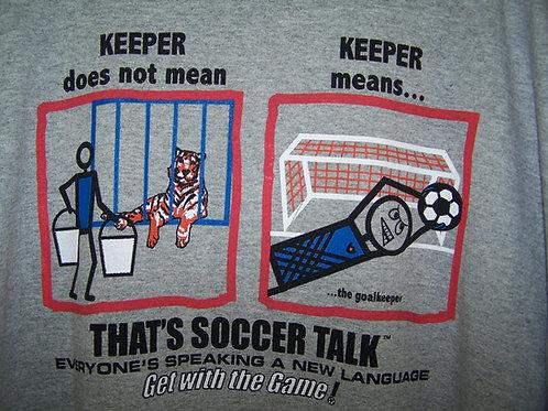 'Soccer Talk' JATO Tee - Keeper