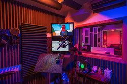 Henckahontas Studio: Recording booth