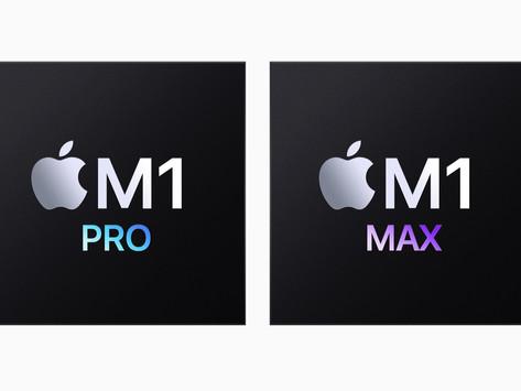 Apple anuncia os chips M1 Pro e M1 Max, projetados para o novo MacBook Pro