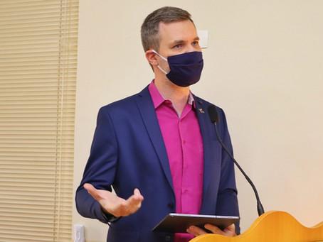 Vereador Rafael de Angeli pede prorrogação para pagamento de IPTU de imóveis empresariais