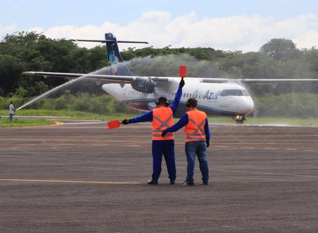 Araraquara volta a receber voos comerciais