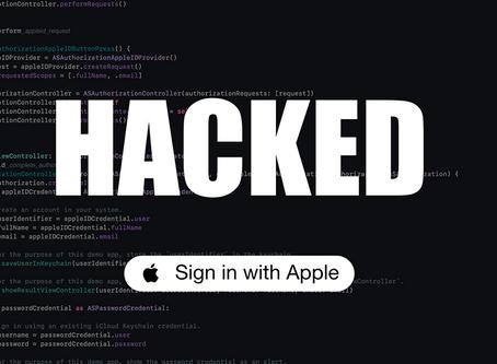 Apple paga 100 mil dólares a hacker por descobrir falha no 'Iniciar sessão com a Apple'