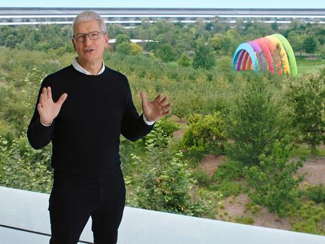 Novos recursos do Apple Watch e iPad para bem-estar, exercícios e criatividade