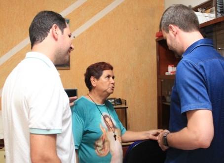 Vereadores visitam a Comunidade Sacrário de Amor
