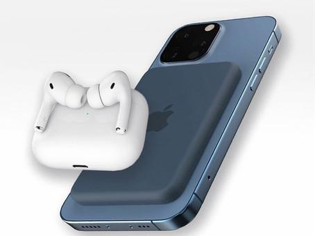 Prosser: bateria externa com MagSafe para o iPhone 12 terá carregamento reverso