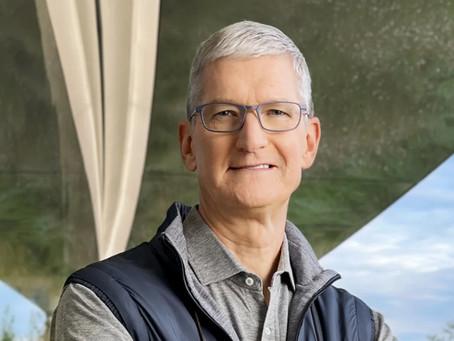 Tim Cook é destaque de capa da Revista 'Outside', onde fala sobre saúde e bem-estar
