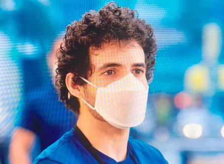 Apple Face Mask: máscara facial personalizada projetada pela Apple para seus funcionários