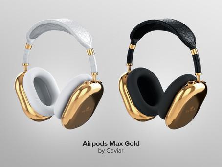 Você poderá ter AirPods Max em ouro puro por 'míseros' US$ 108 mil