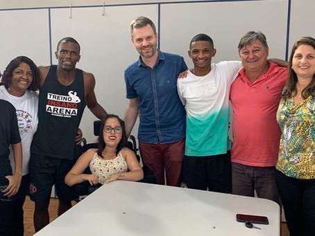 Fundesport quer renovar patrocínio com atleta de PES