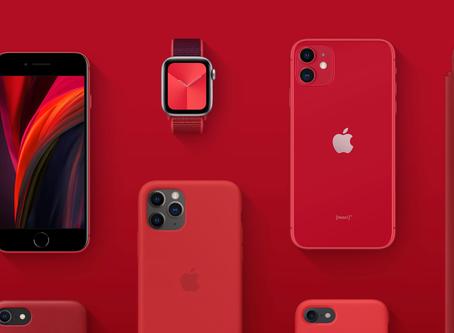 Parte dos lucros do iPhone SE vermelho será destinada ao combate do coronavírus
