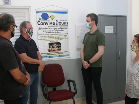 Instituto Conviva Down precisa de recurso para ampliação de serviço assistencial