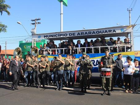 Desfile Cívico celebra o bicentenário de Araraquara