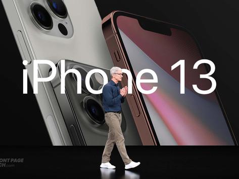 Evento do 'iPhone 13' deve ocorrer em 14/9, com pré-venda no dia 17 e lançamento em 24/9